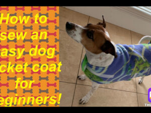 How to Sew – Easy Dog Jacket